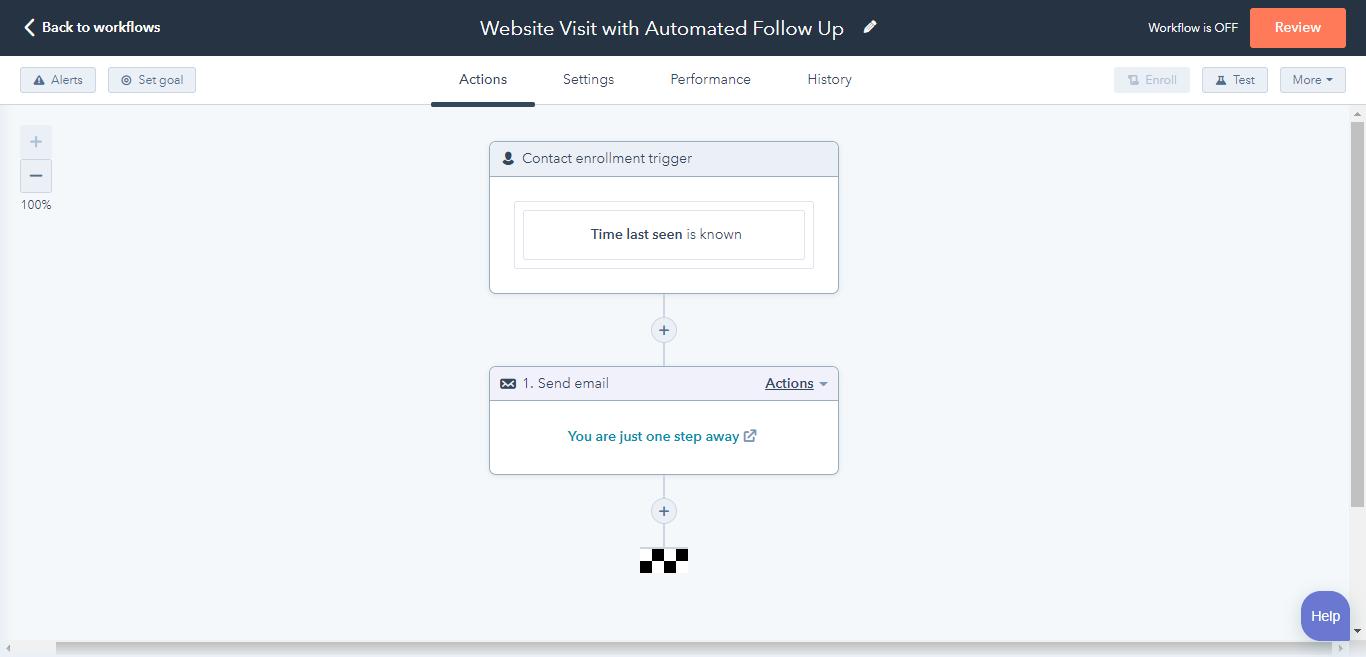 Web Visit Auto Follow Up 1