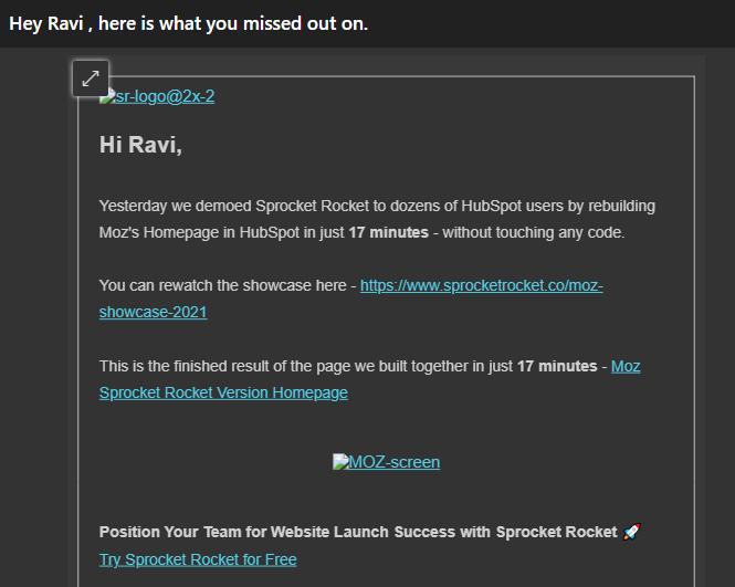email marketing tip - alt image
